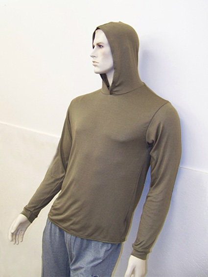 RF / EMI Shielding Garments & Clothing - Protective Hoodie