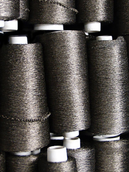 Spools of Conductive Yarn
