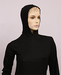 RF / EMI Shielding Garments & Clothing - Silverell Black Hoodie