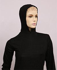 RF / EMI Shielding Garments & Clothing - Silverell Black Hoodie