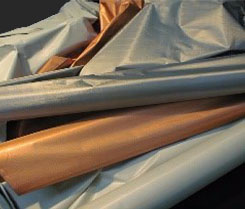SHIELDEX® Metalized Conductive Fabric - V Technical Textiles
