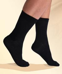 RF / EMI Shielding Garments & Clothing - Silverell Black Dress Socks