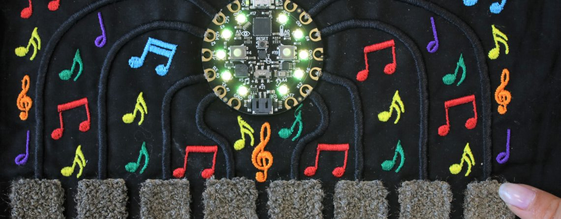 Embroidered Circuits
